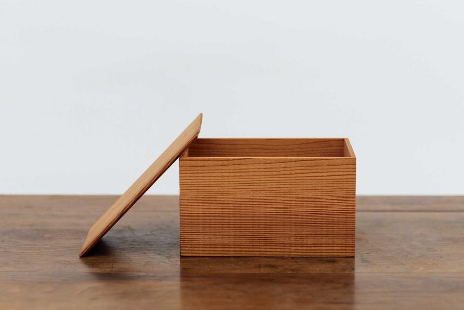 工房イサド 杉のパン箱