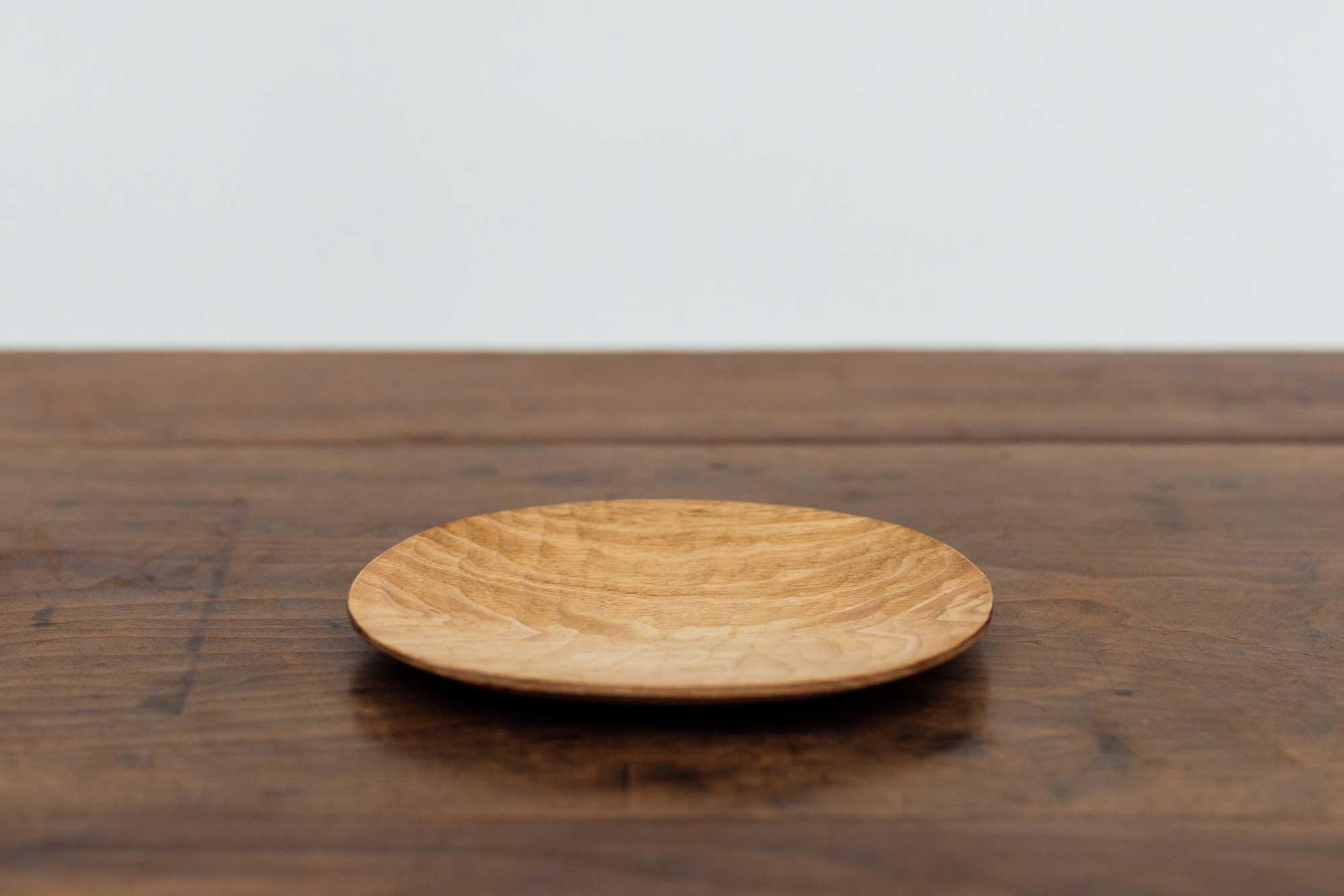 工房イサド オーバル皿(小)クルミ