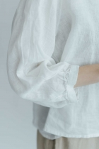 fog linen work アドリア ブラウス