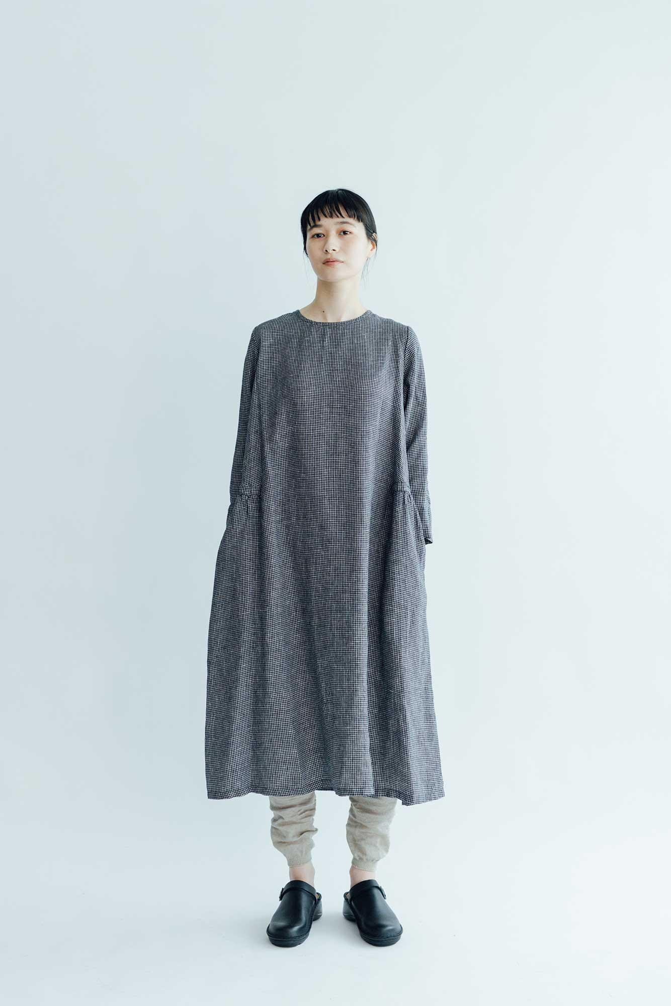 fog linen work クララ ワンピース レナ