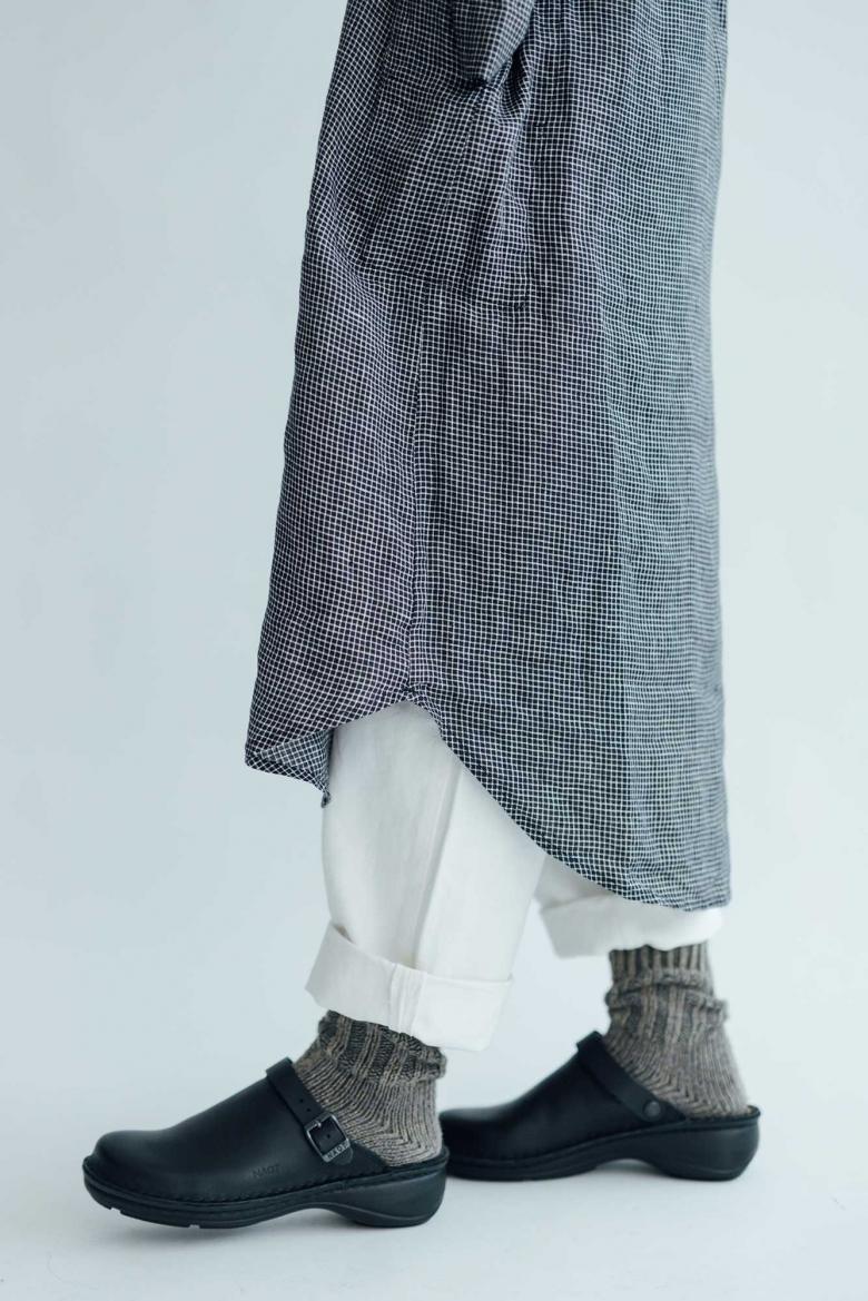 fog linen work ルナ シャツワンピース
