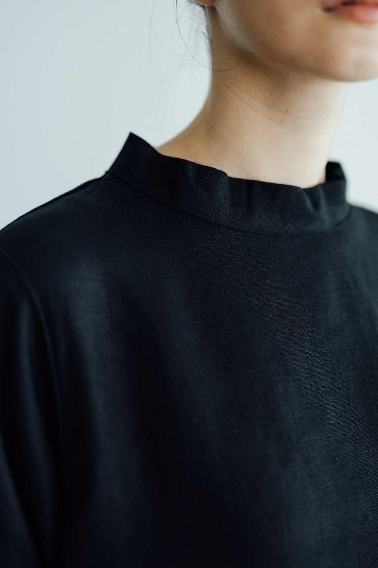 fog linen work アリー ワンピース ブラック