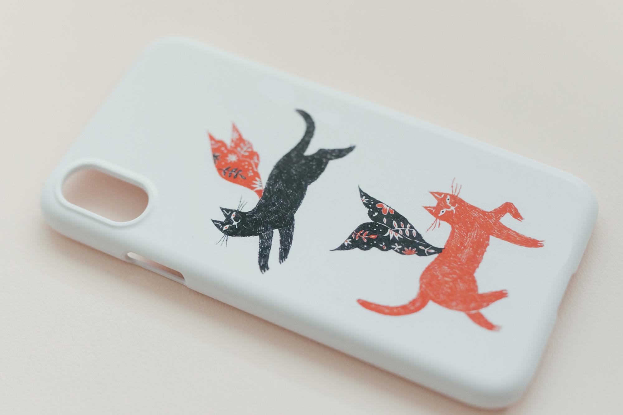 【受注生産】杉本さなえ iPhoneケース ごきげんいかが