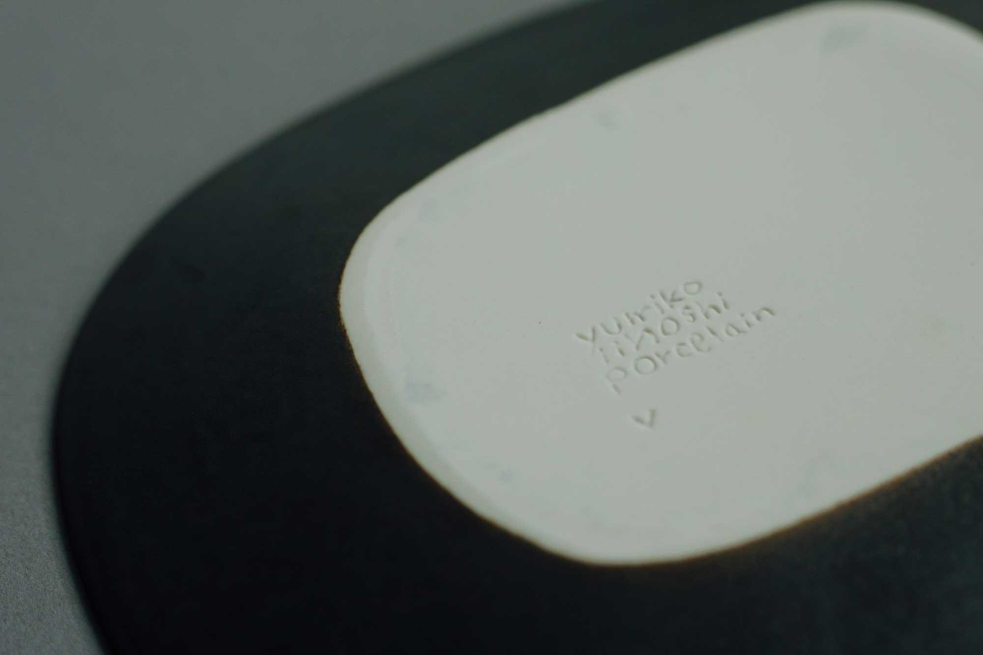 yumiko iihoshi porcelain rectangle maru-black