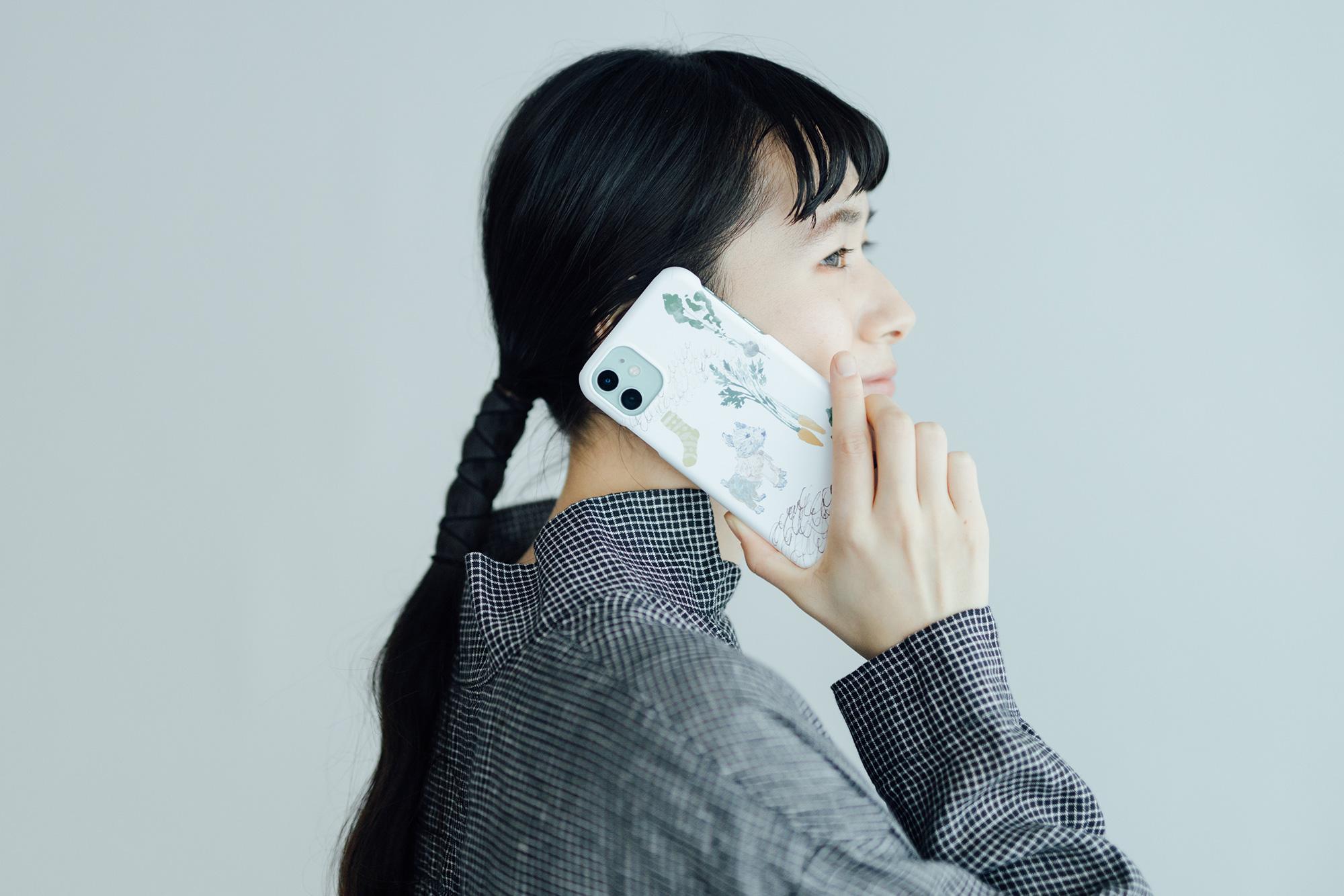 【受注生産・同梱不可】くらもとこ iPhoneケース 掘り出し物