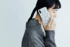 【受注生産】林青那 iPhoneケース KURASUKOTO グレー