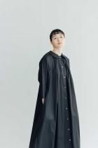 Atelier d'antan Aimee コットン ワンピース (SPRING)ブラック