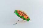 BonBonStore アフリカンバティック長傘(日傘) 自転車-グリーン