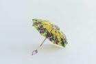 BonBonStore アフリカンバティック長傘(日傘) イエロー