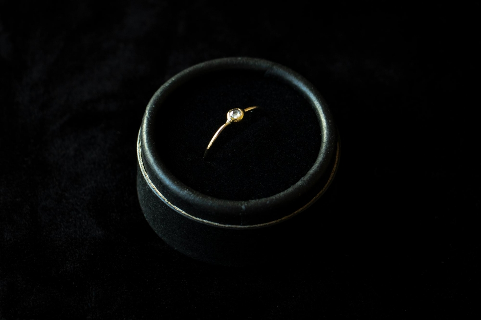 accessories mau ダイヤモンドリング 大