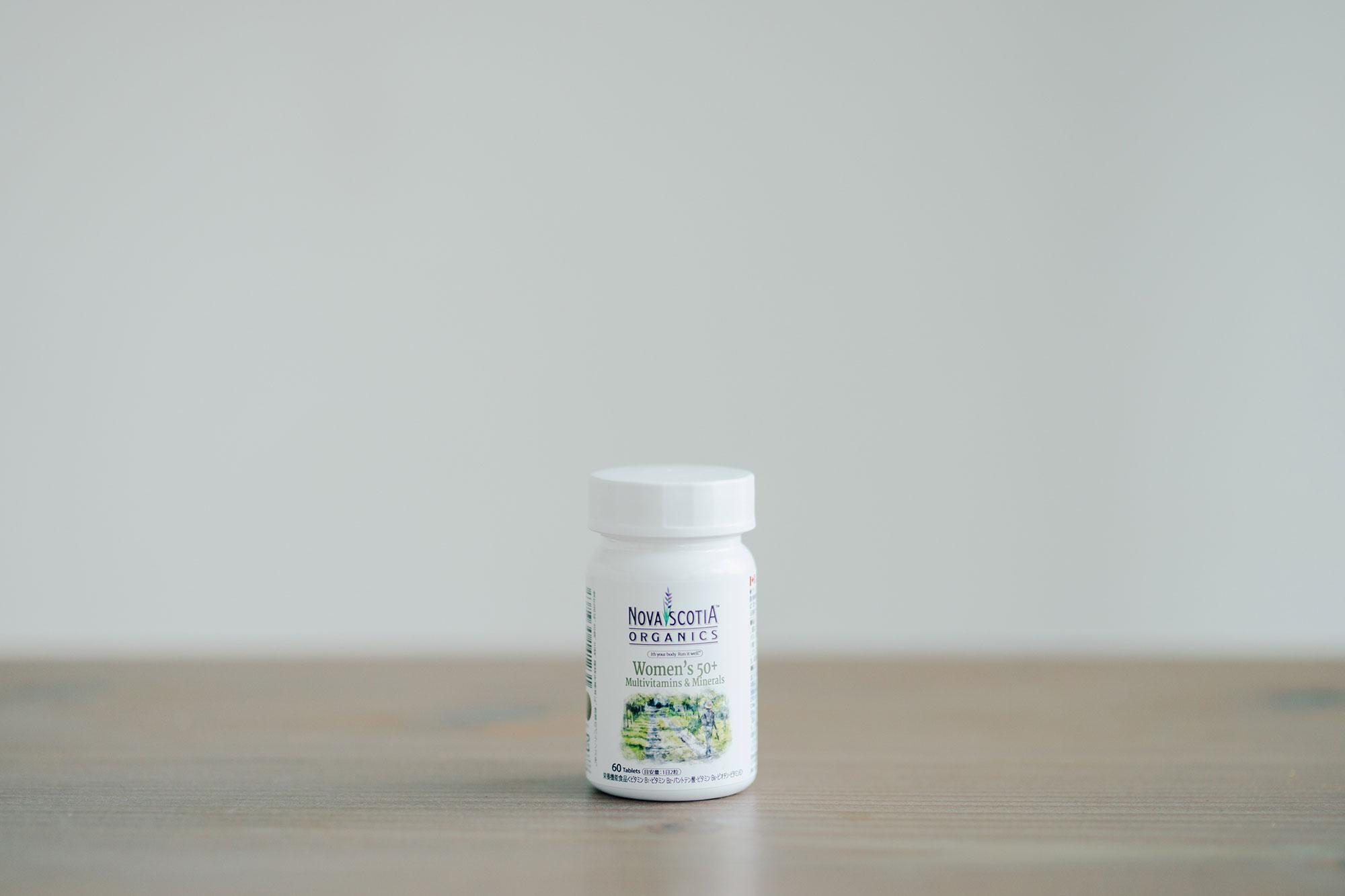 ノバスコシアオーガニックス マルチビタミン&ミネラル ウーマンリバランス