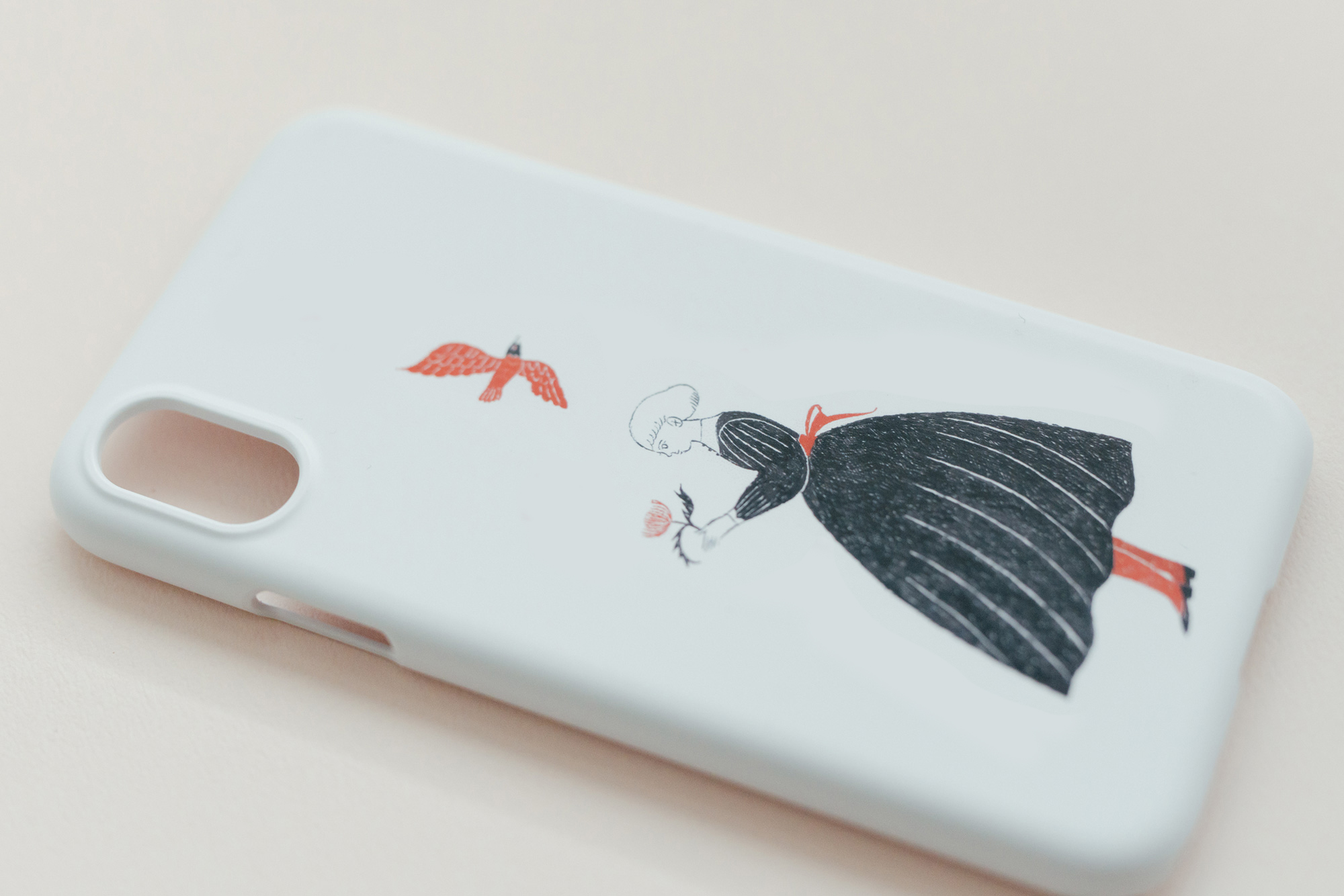 【受注生産】杉本さなえ iPhoneケース 嬉しい予感