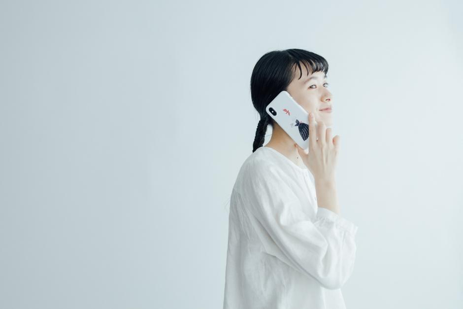 杉本さなえ iPhoneケース 嬉しい予感