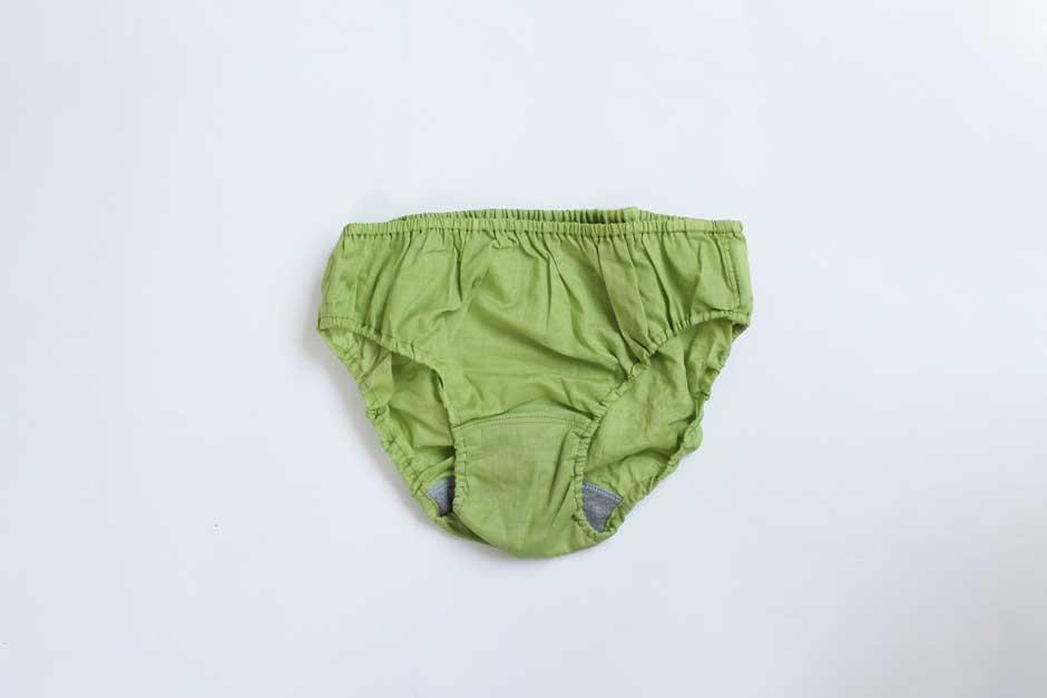 TESHIKI パンツ PETAL GREEN