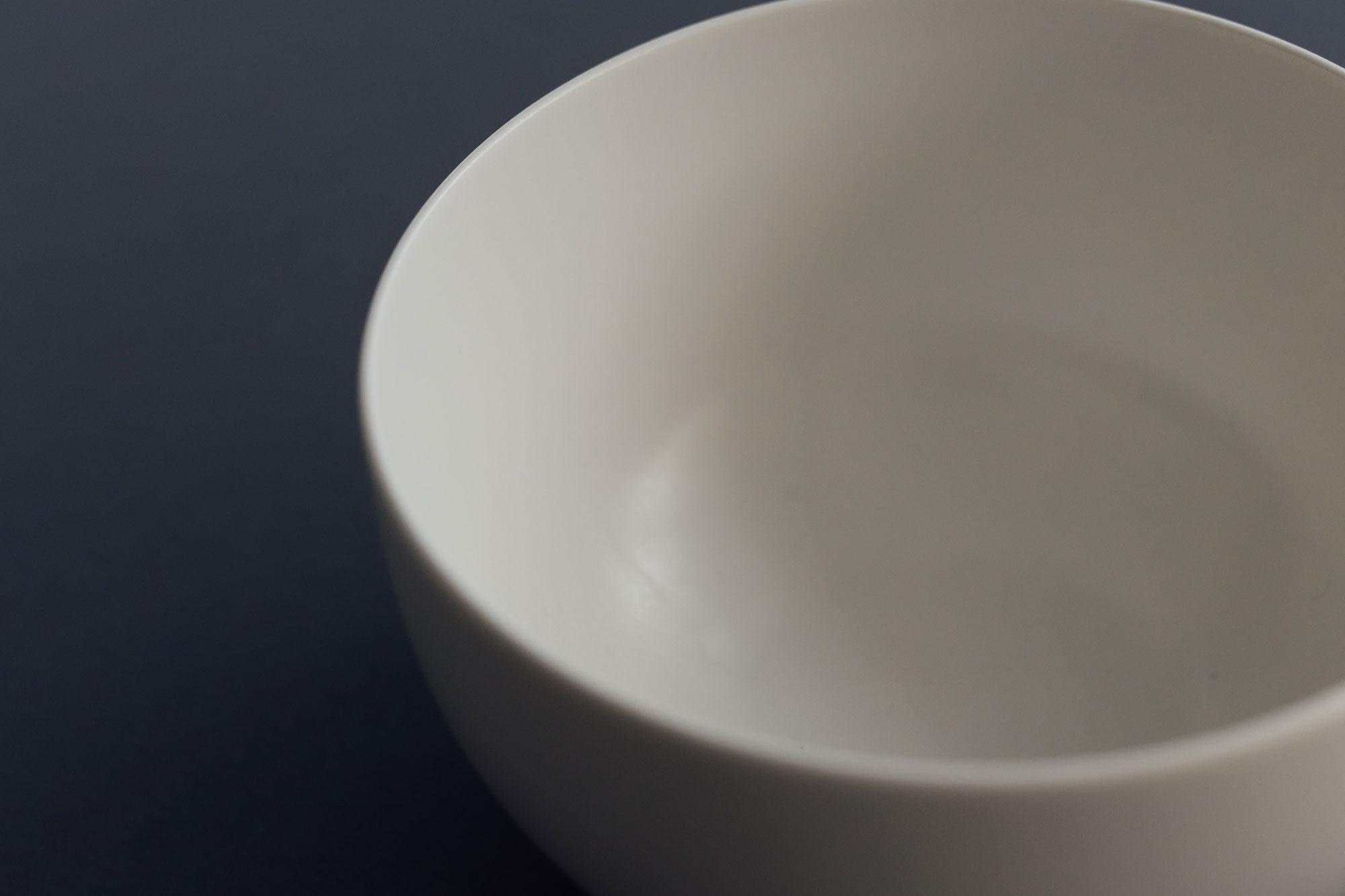 yumiko iihoshi porcelain ReIRABO Donburi quiet white