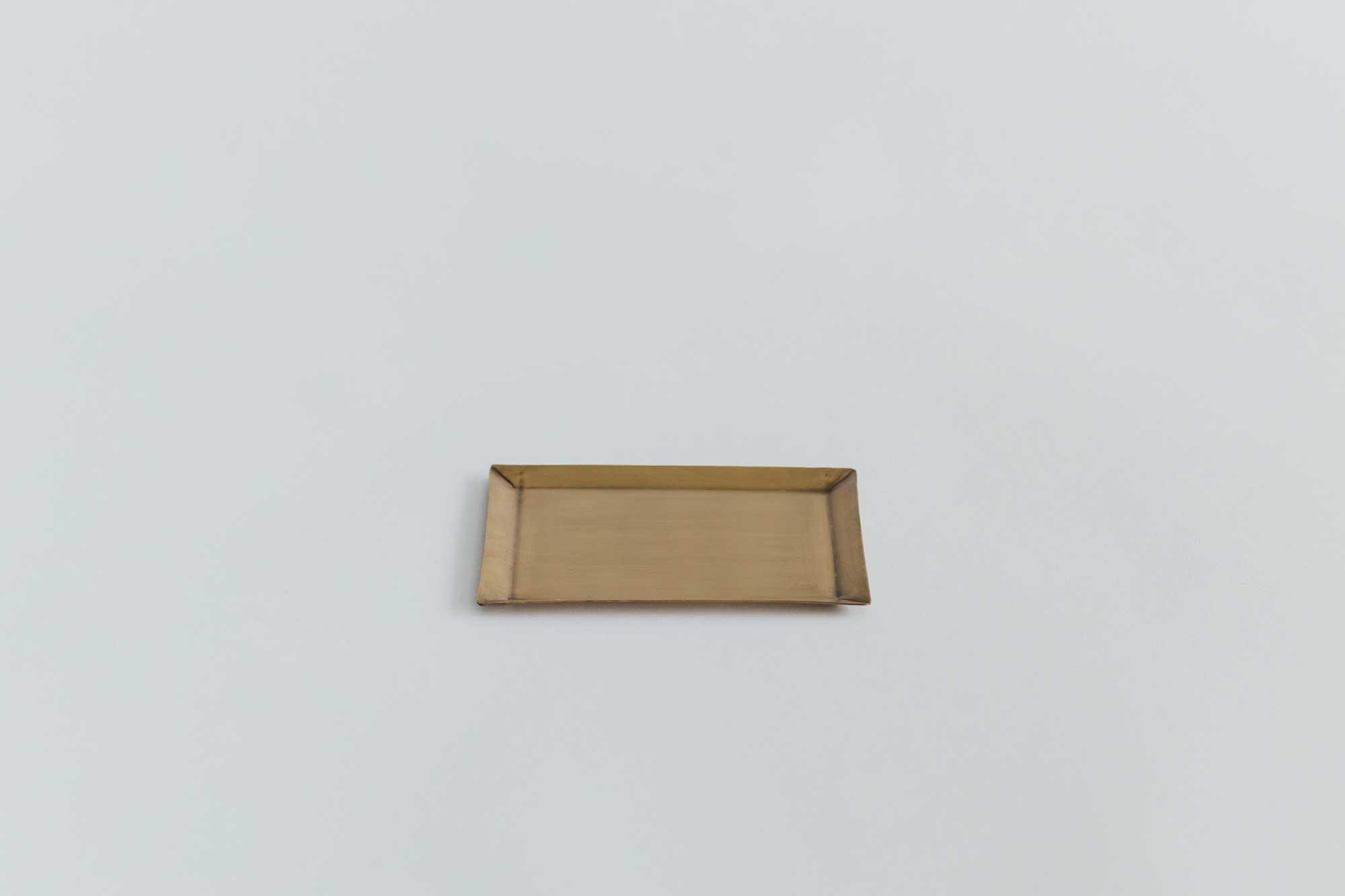 fog linen work ブラスプレート 長方形