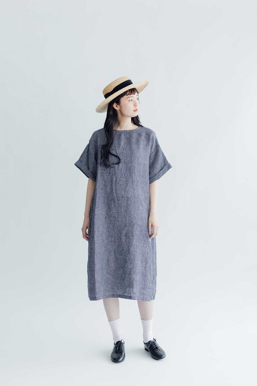 fog linen work フェリシア ワンピース