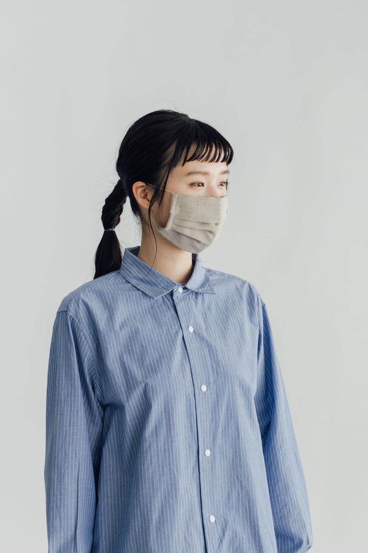 [お一人さま2枚まで] fog linen work リネンマスク