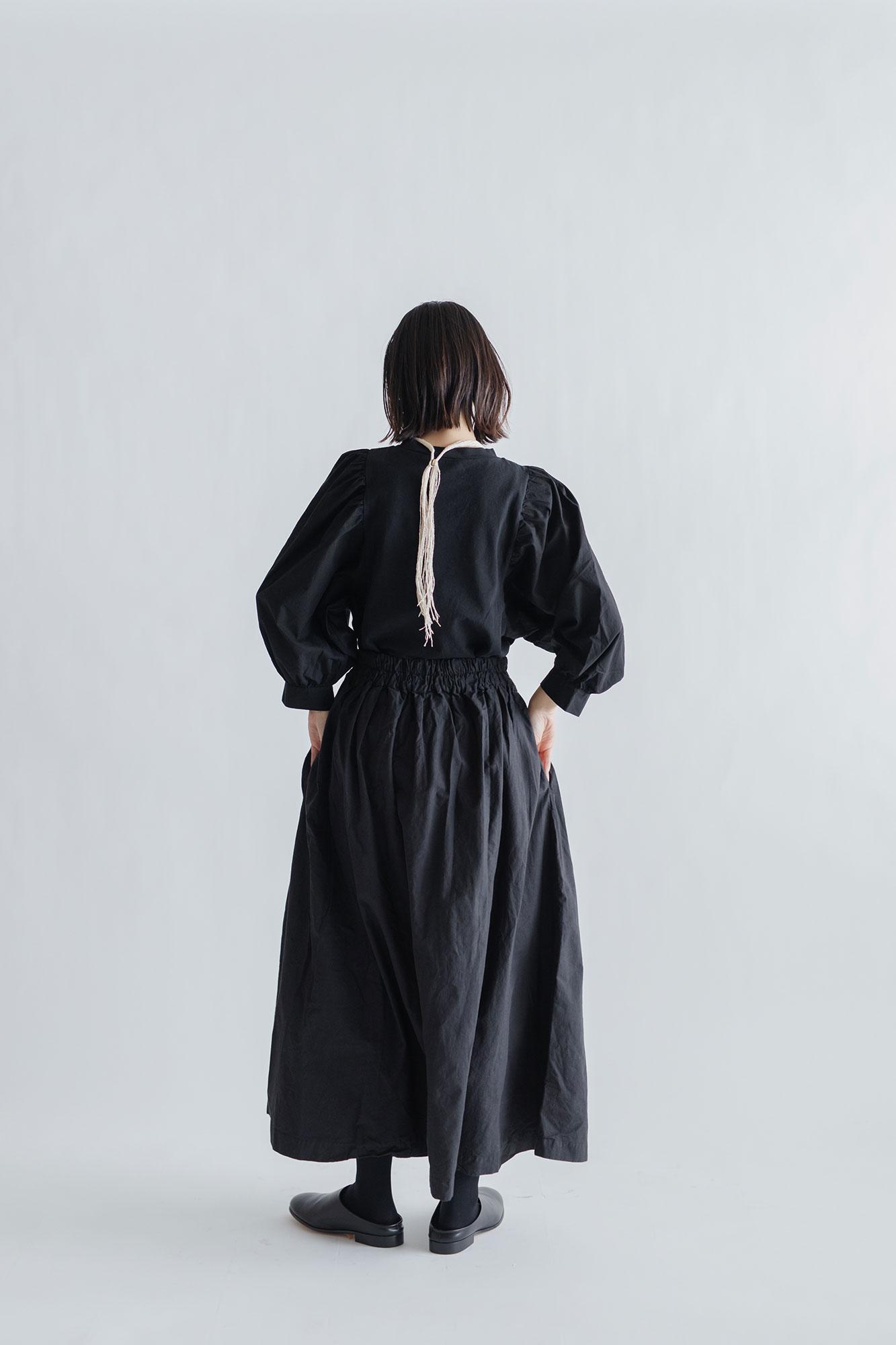 jitsu 糸首飾り/フリンジ 白