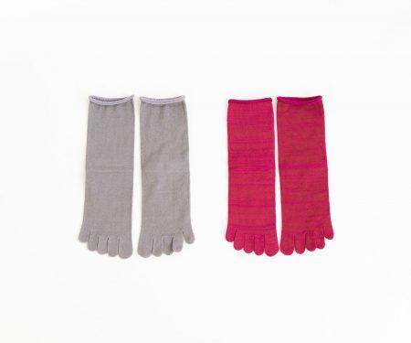 Glück und Gute「足の肌着」絹と綿 petta