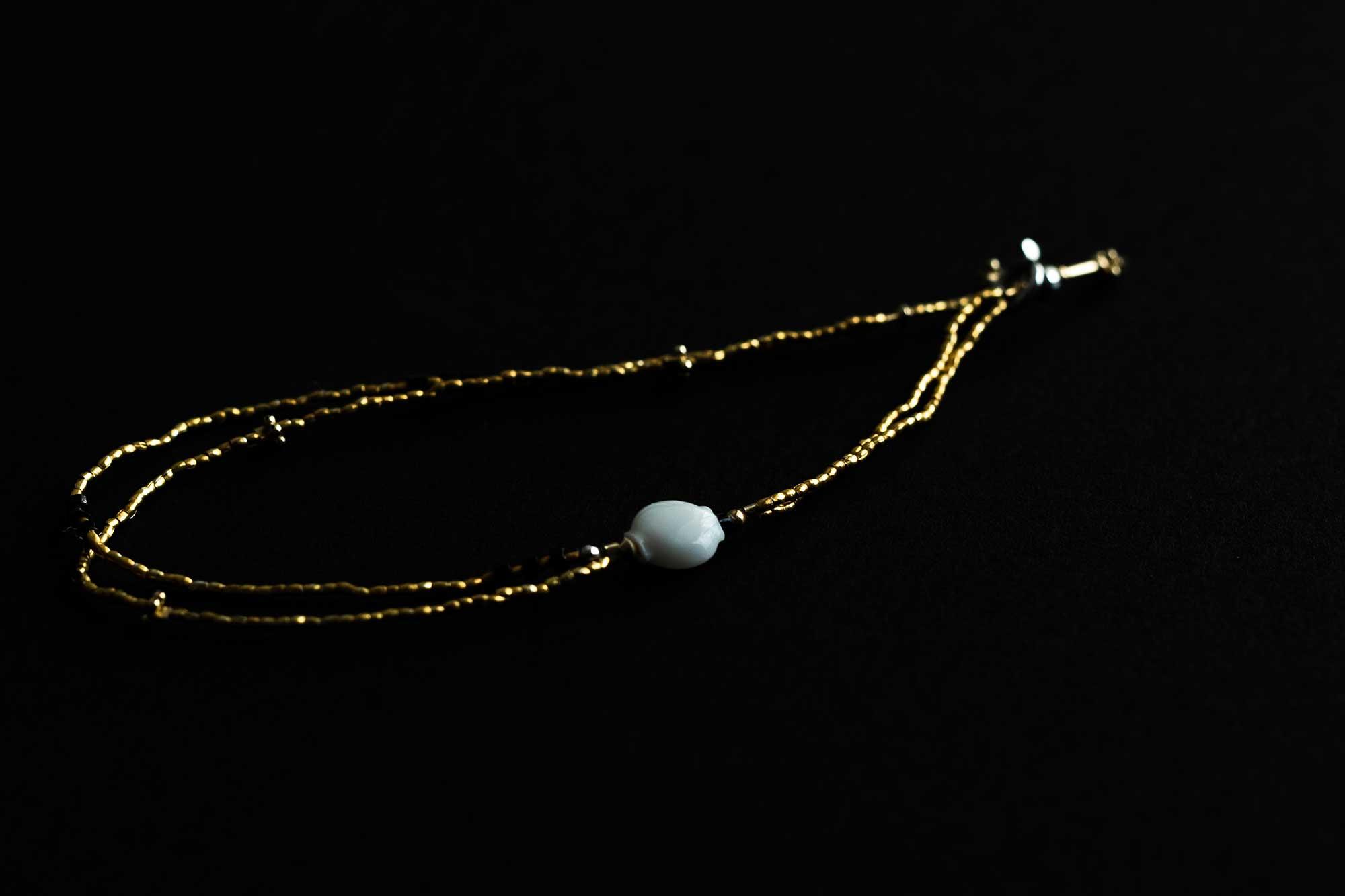 立田暁子 amulet bracelet no.1