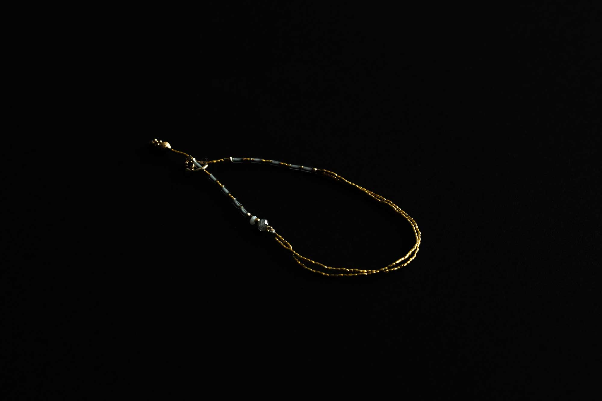立田暁子 natural diamond bracelet no.1