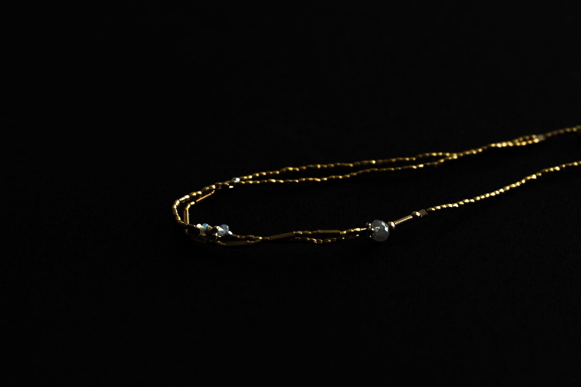 立田暁子 natural diamond bracelet no.2
