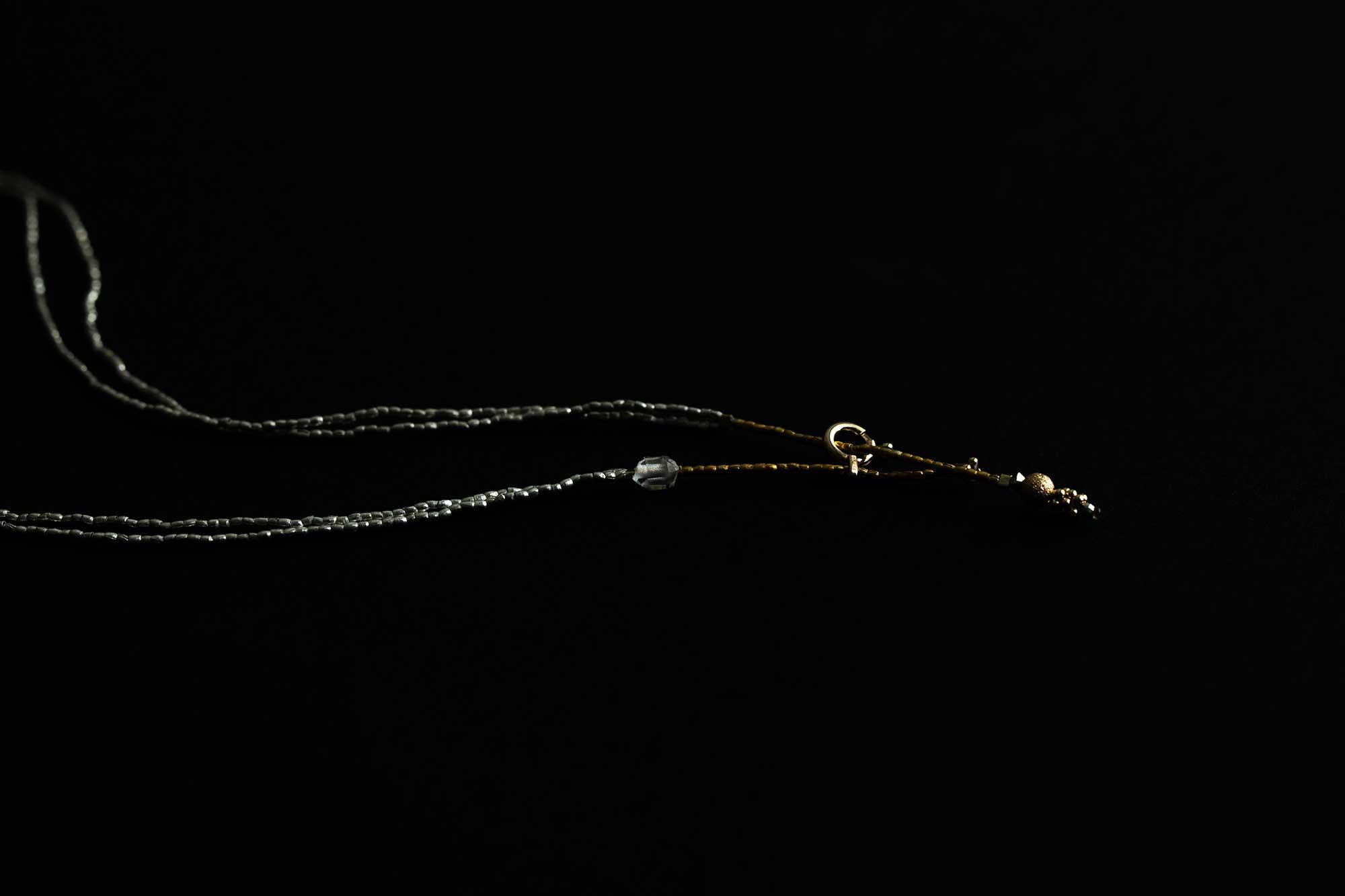 立田暁子 amulet necklace 35cm