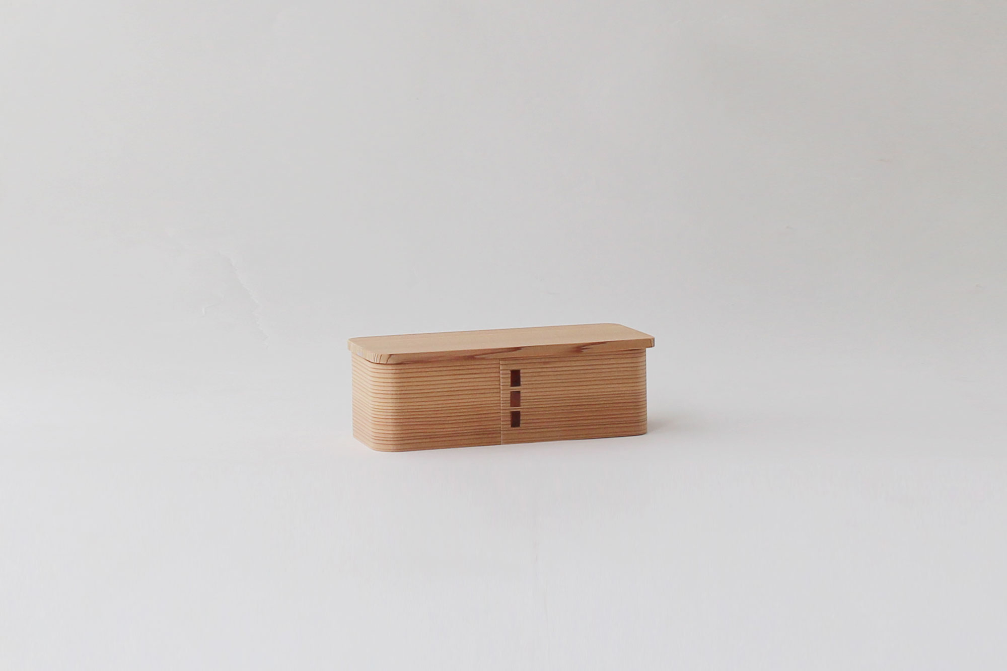 博多曲物 玉樹 角一段弁当箱