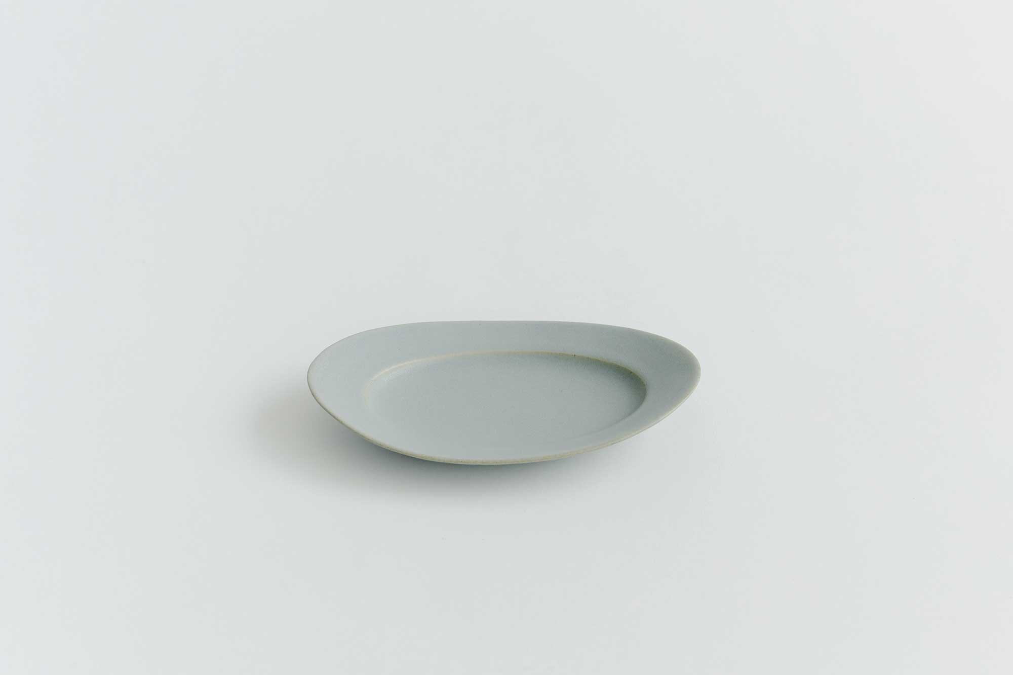 Awabi ware オーバル皿 S