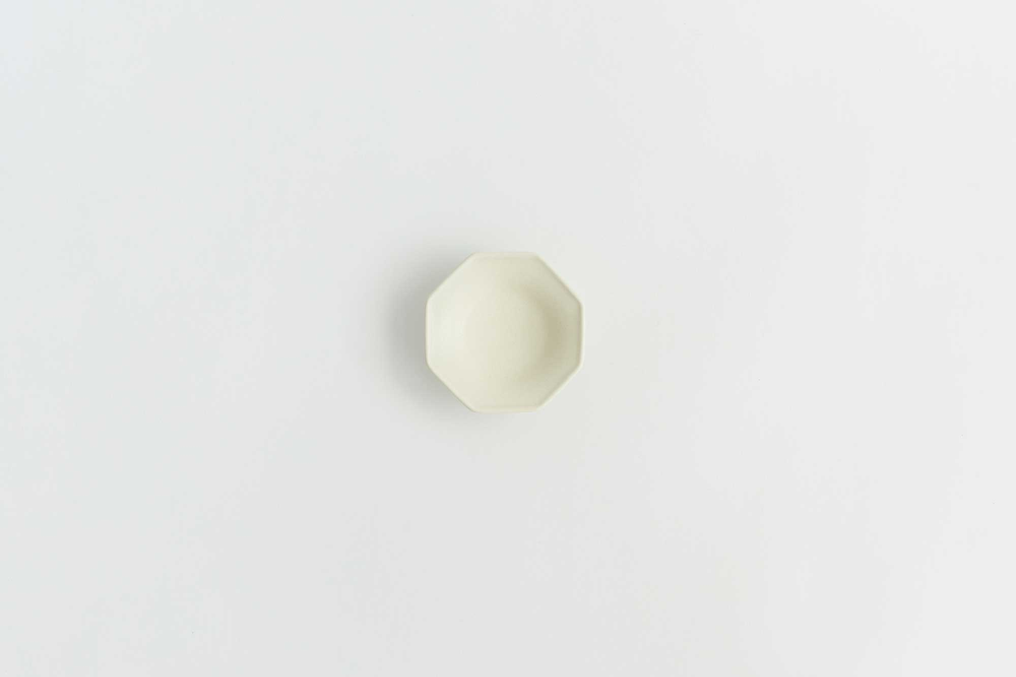 Awabi ware 八角豆皿