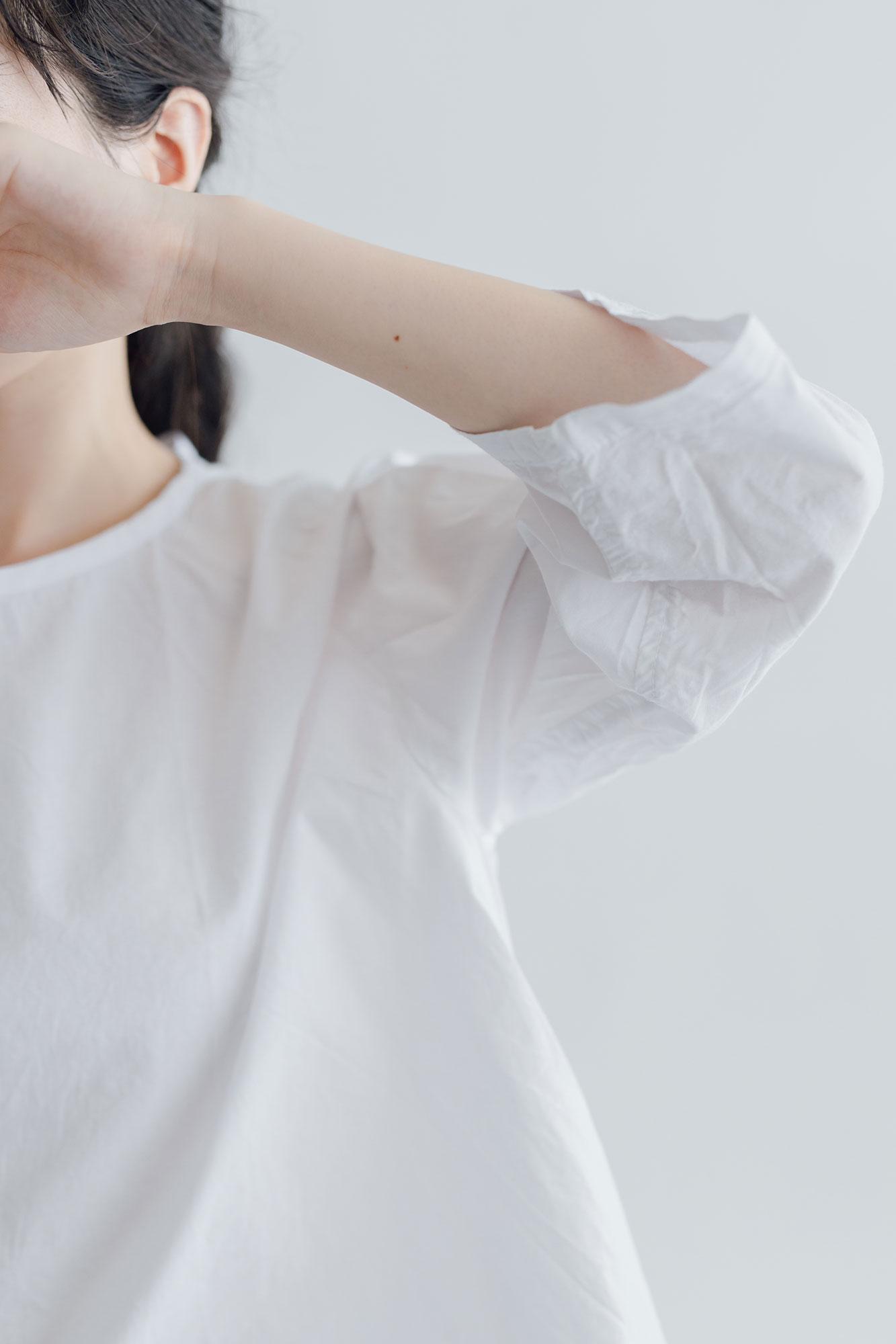 miiThaaii スジャータトップ ホワイト
