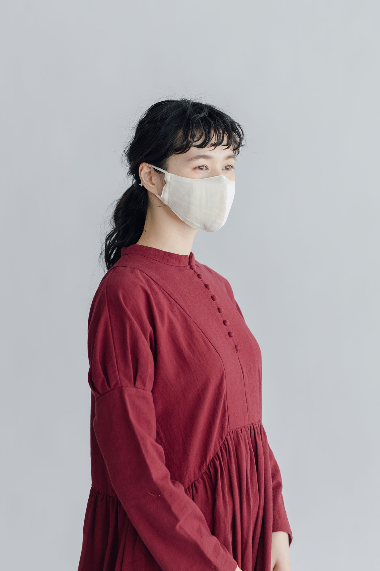 ao [抗ウイルス]ガーゼマスク