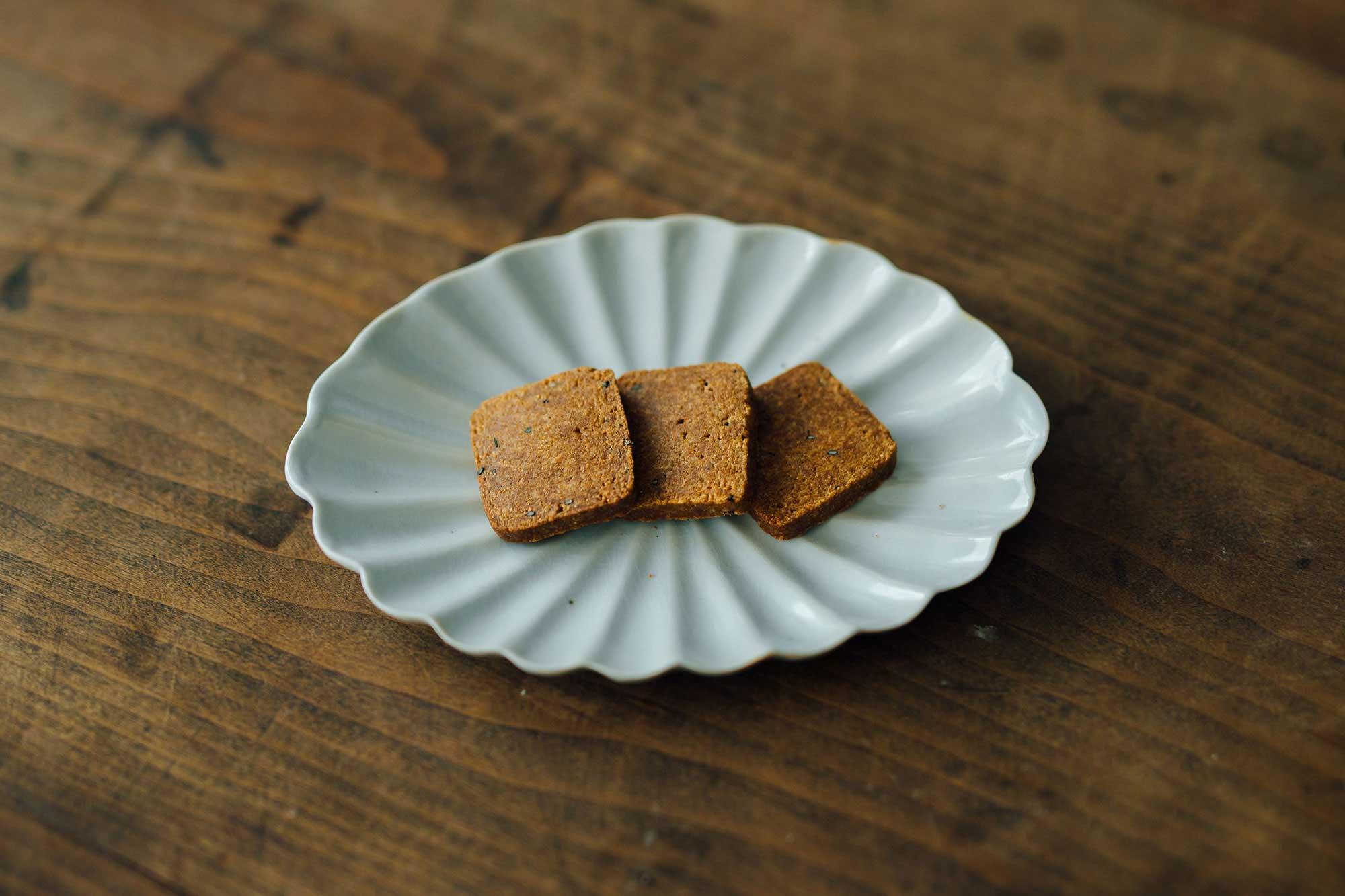 かるべけいこ きな粉クッキー