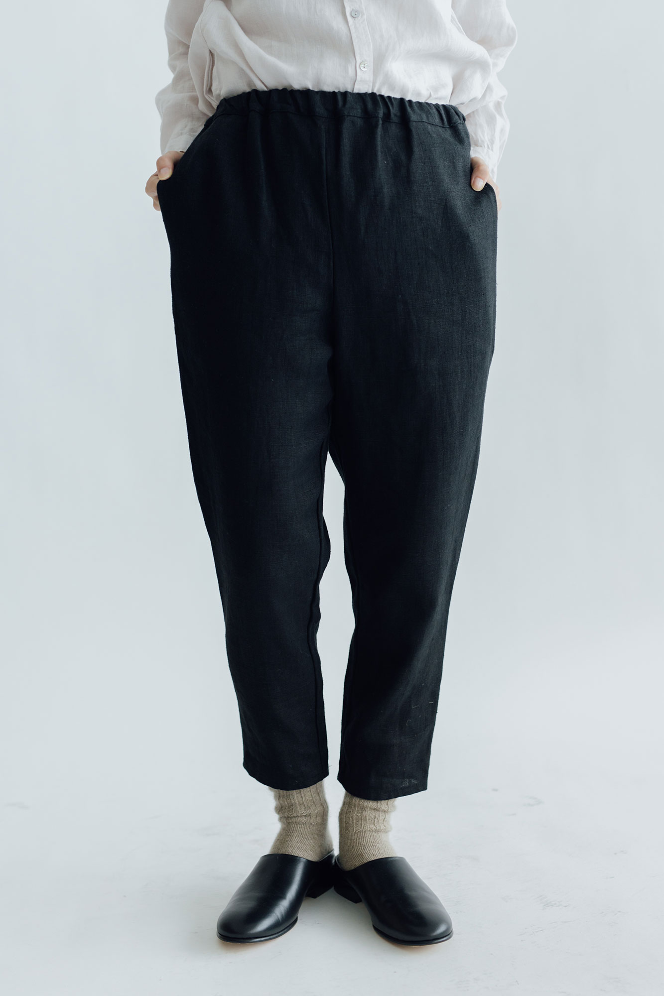 fog linen work ロビン パンツ ブラック