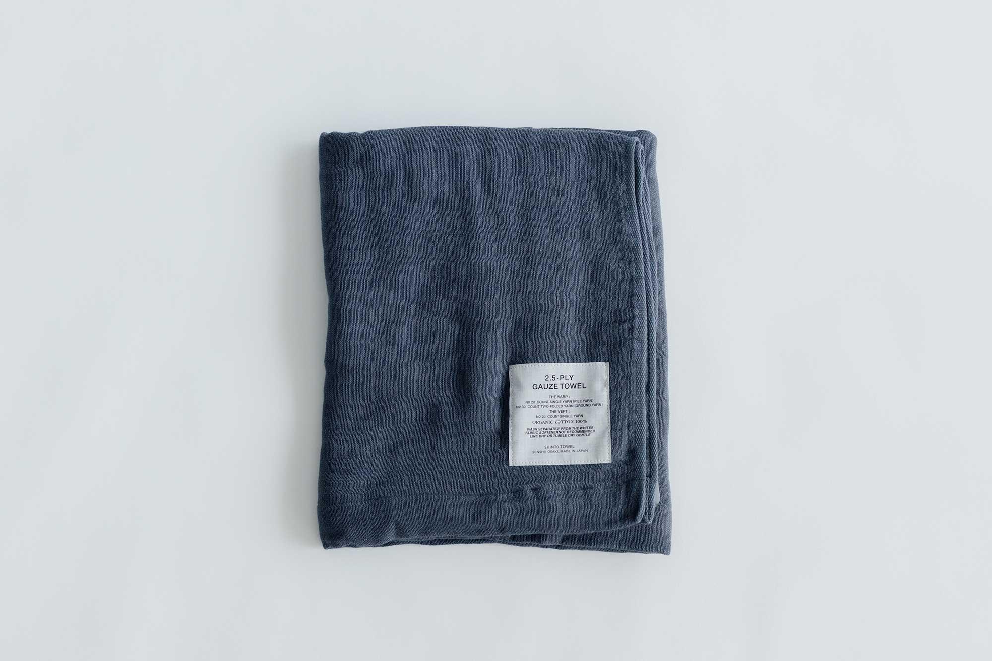 SHINTO TOWEL 2.5-PLY GAUZE バスタオル