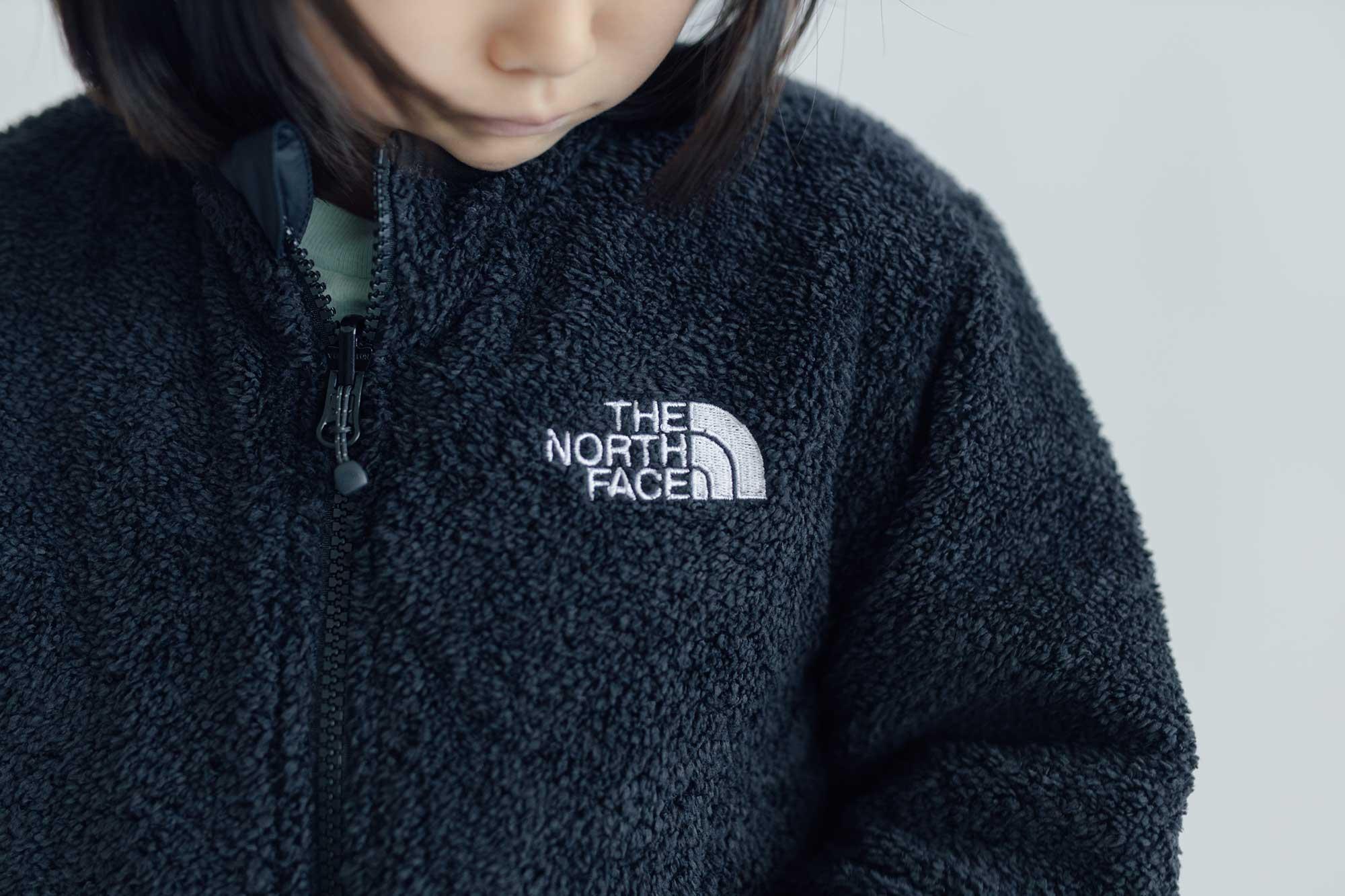 THE NORTH FACE リバーシブル コージー ジャケット キッズ