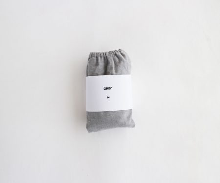 TESHIKI パンツ COTTON CASHMERE GREY