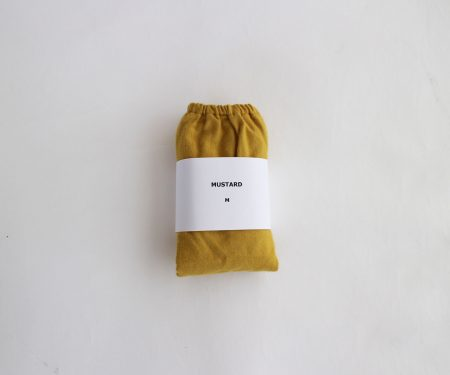 TESHIKI パンツ COTTON CASHMERE MUSTARD