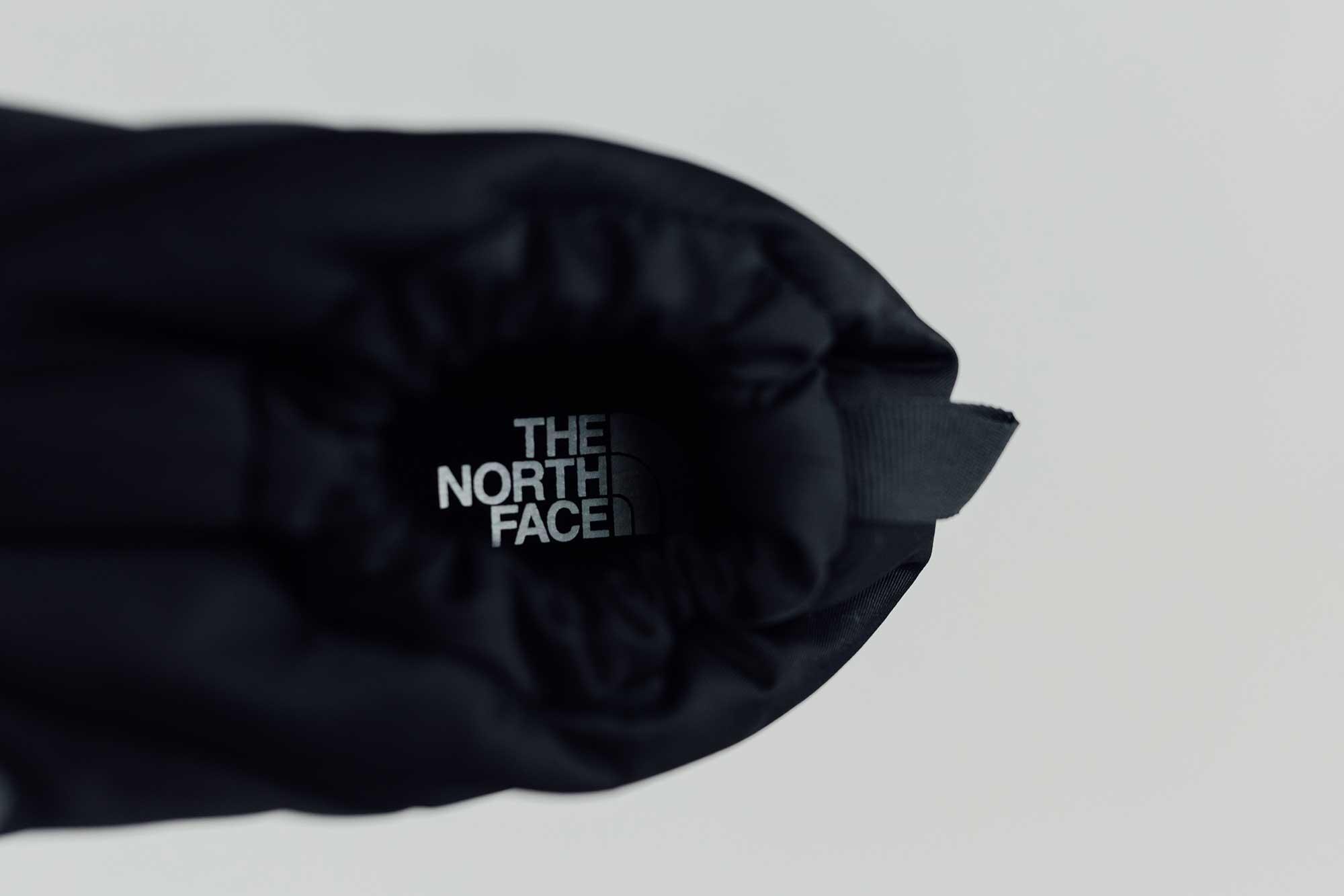 THE NORTH FACE ヌプシ トラクション ライト モック  ブラックナイロン