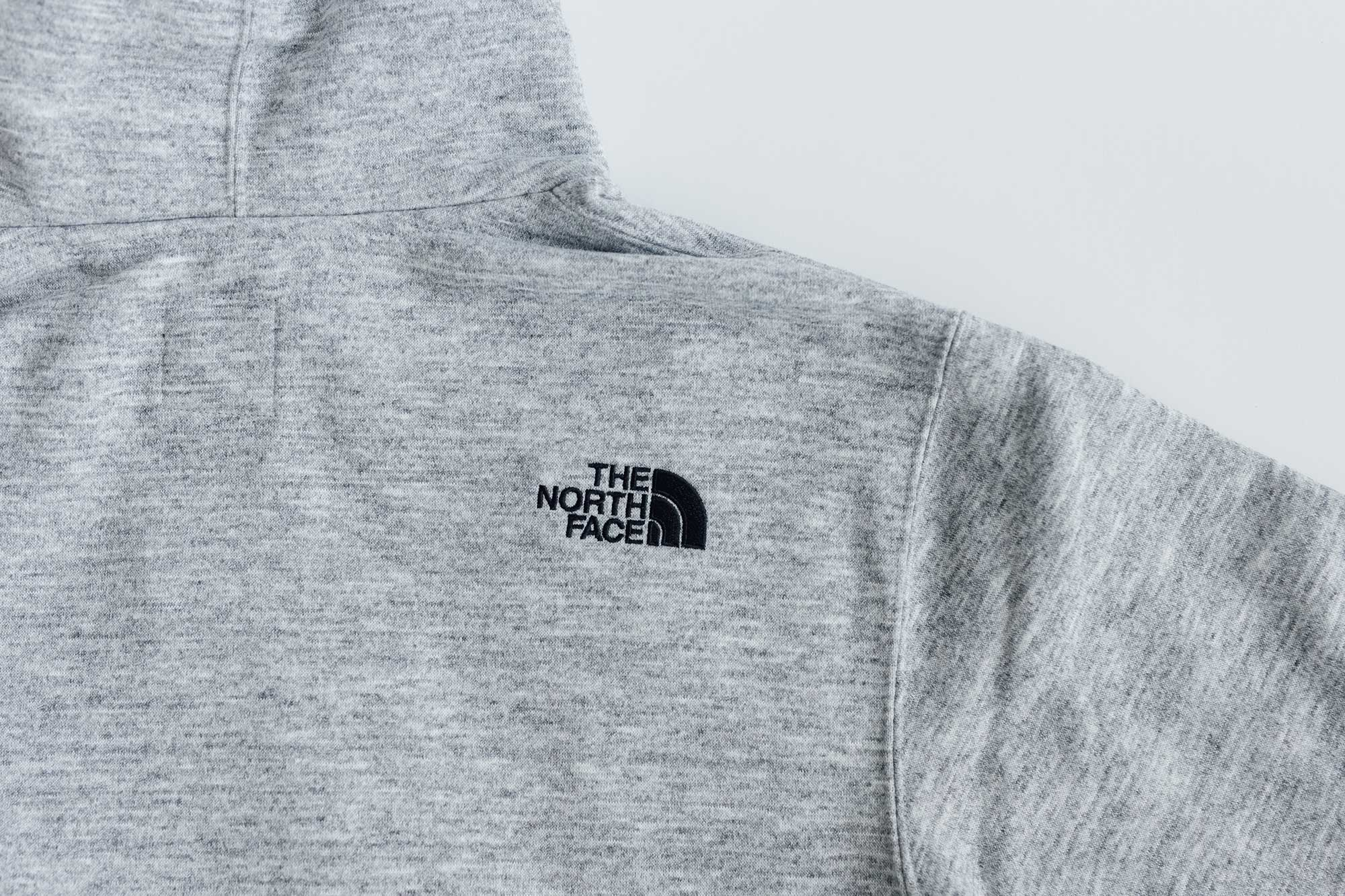 THE NORTH FACE スクエア ロゴ フーディー メンズ