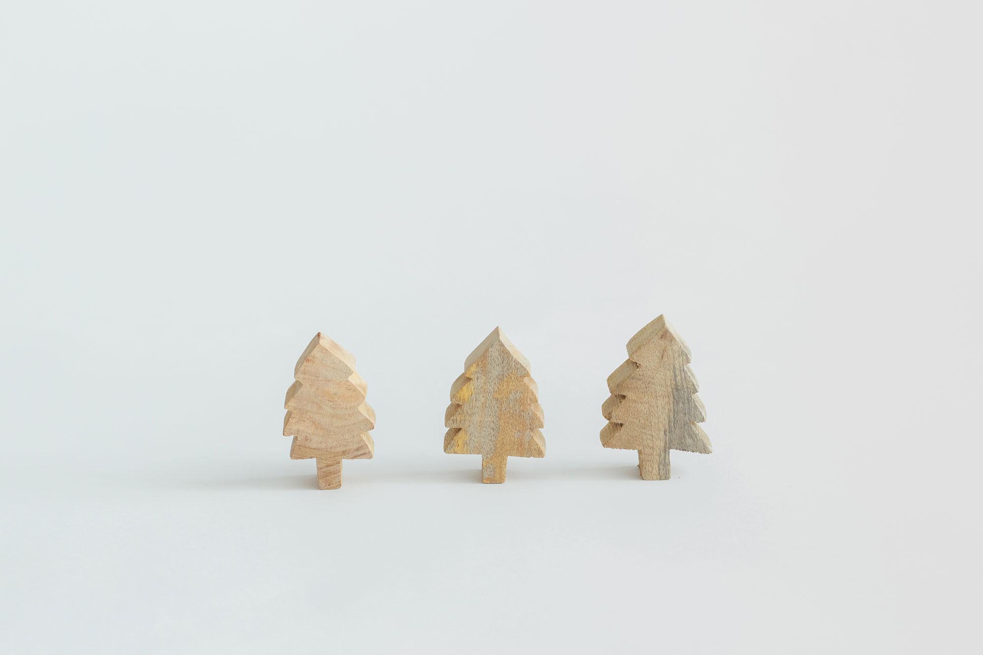 fog linen work もみの木のオブジェ