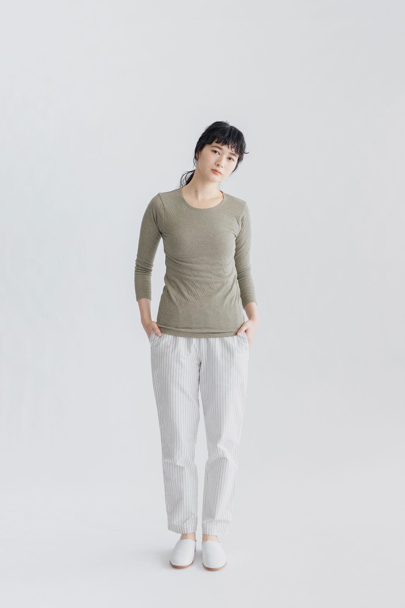 くらすこと 体調整う、あったか長袖シャツ