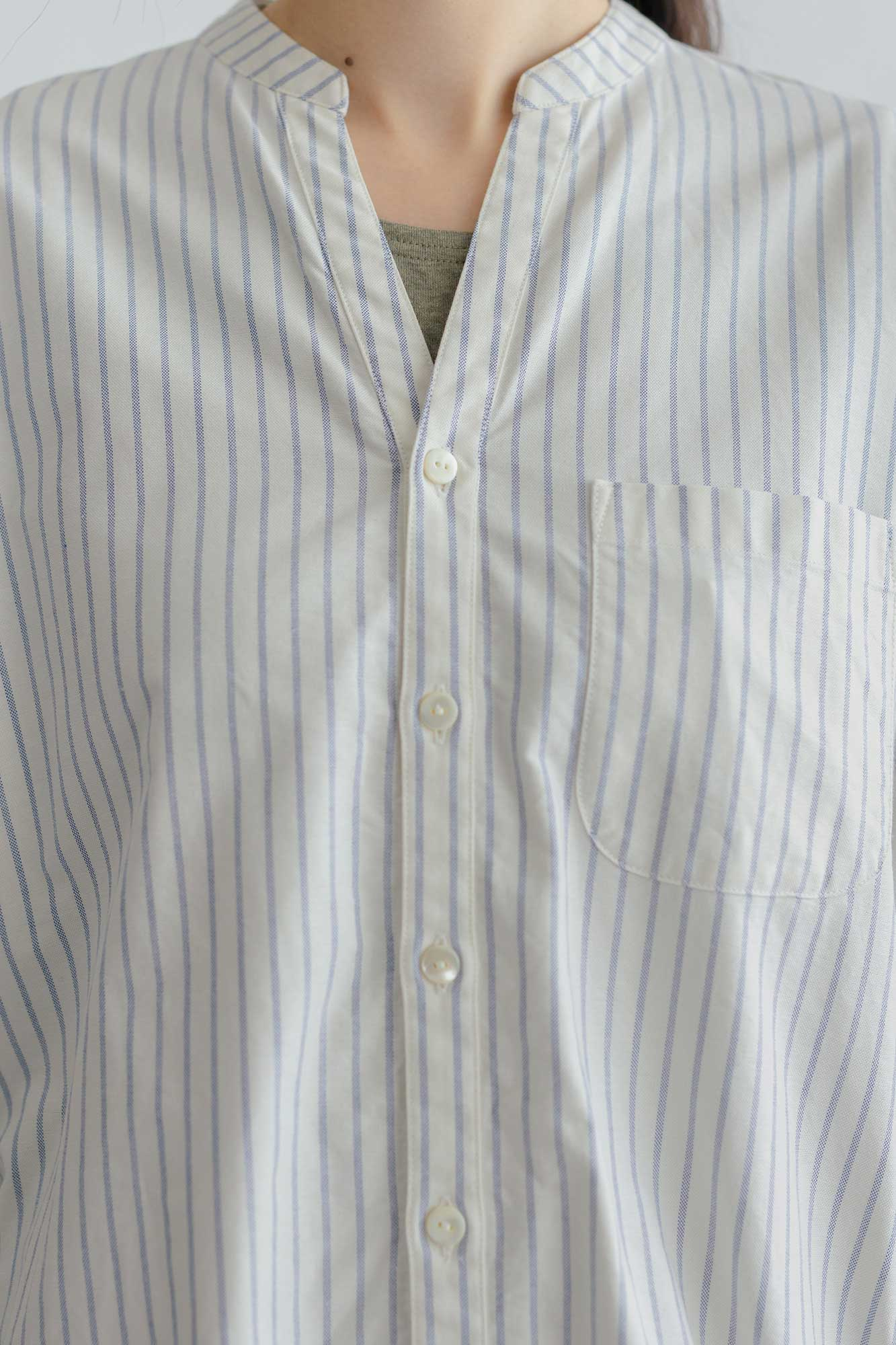fruits of life バンドカラーナイトシャツ[お取寄商品]