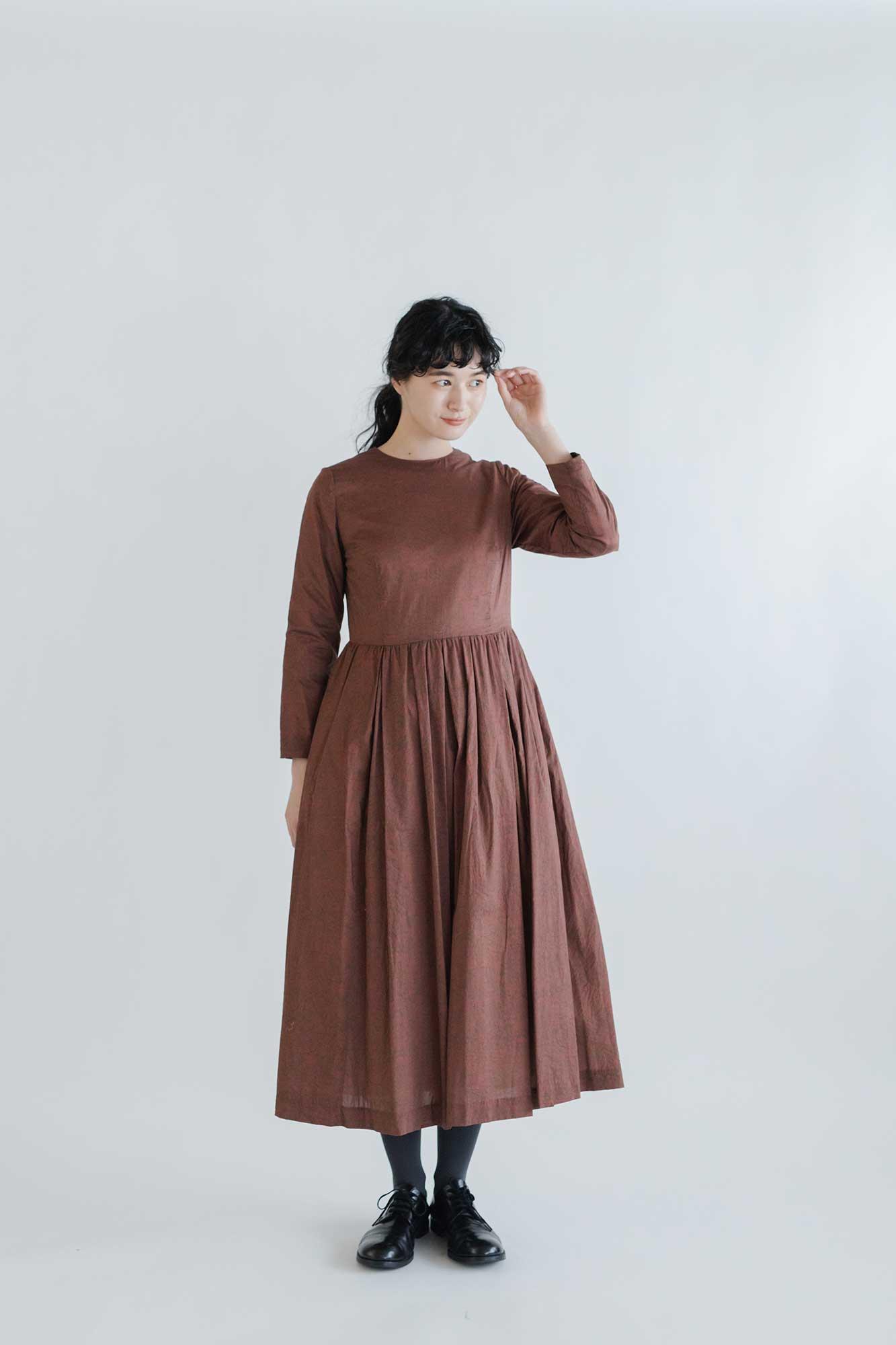 YAECA WRITE タックドレス strawberry meadow