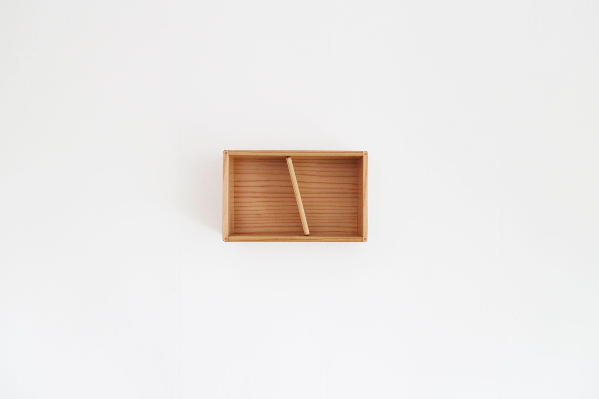 黒木クラフト工房 一段弁当箱(16×10cm)