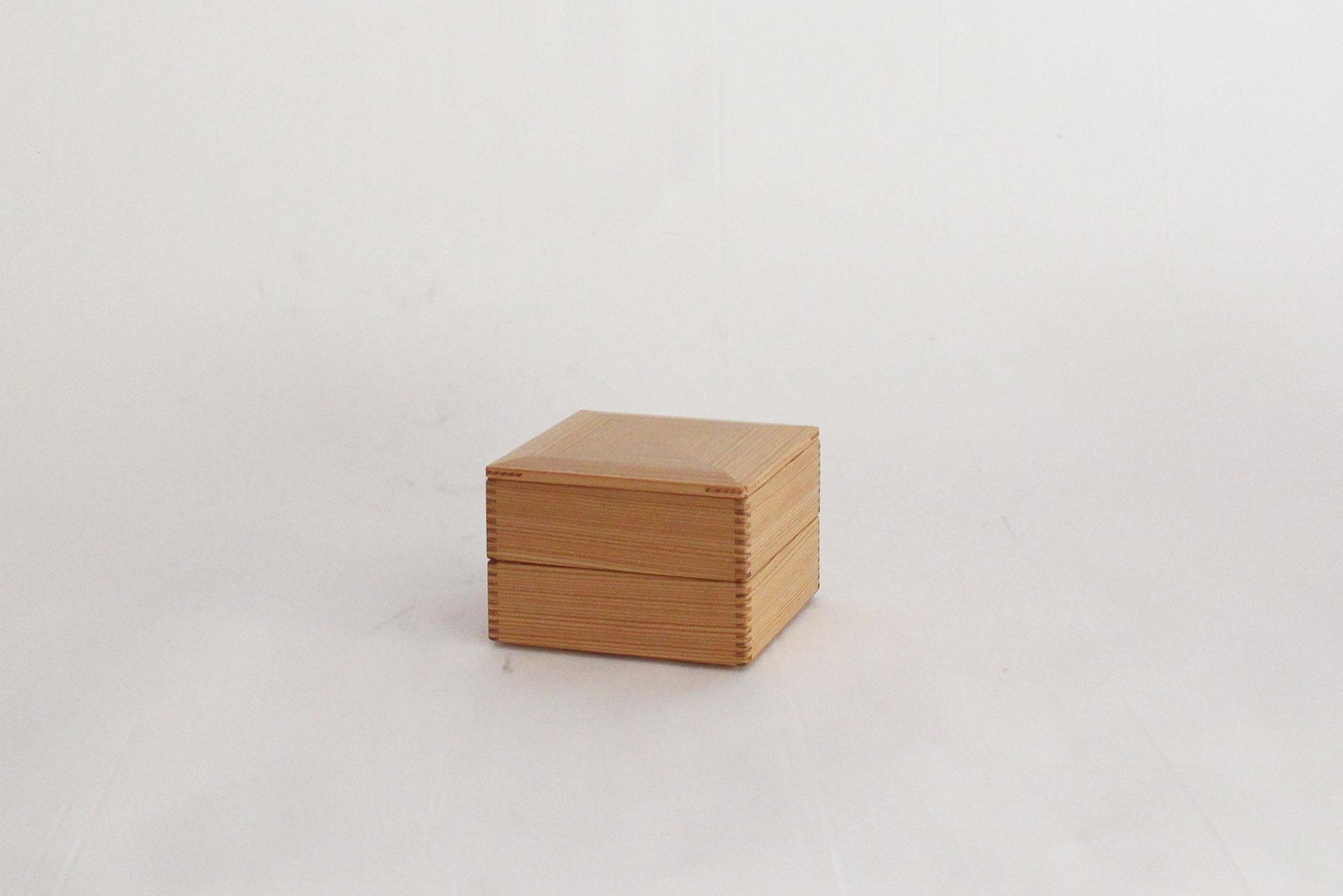 黒木クラフト工房 二段重