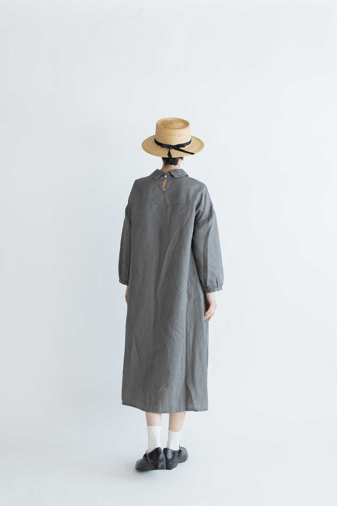 fog linen work ペイトン ワンピース アシエ