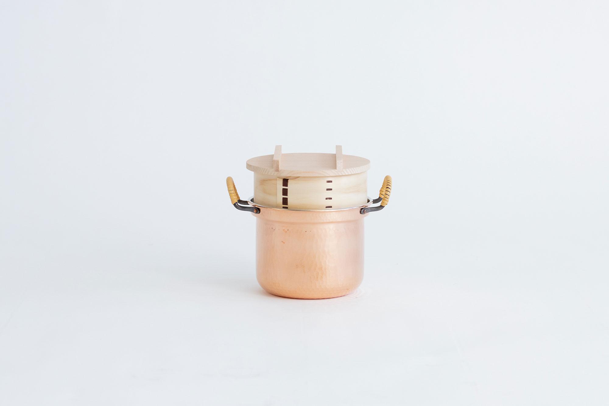 F/style 銅のわっぱ鍋(スズ引き)
