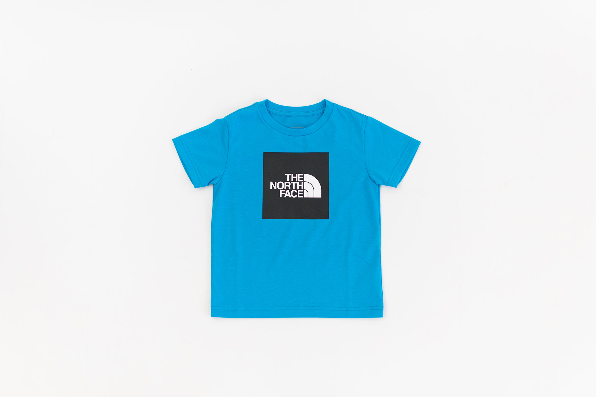 THE NORTH FACE ショートスリーブ カラードビッグロゴTシャツ キッズ